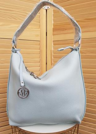 Скидка!! красивая голубая женская сумка мешок