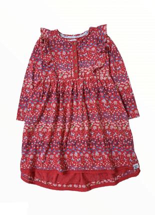 Платье хлопок mantaray на 4-5лет