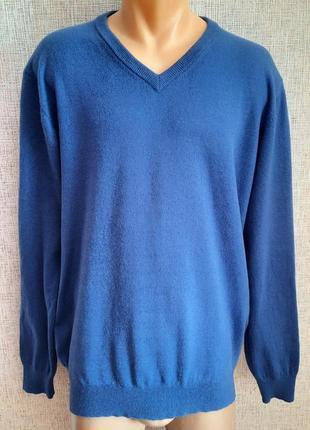 Шерстяной классический свитер john cabot