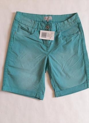 Шорты джинс, шорты хлопковые, джинсовые бермуды, бренд blue motion