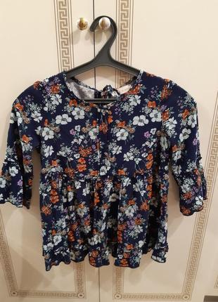 Блузочка в цветочек