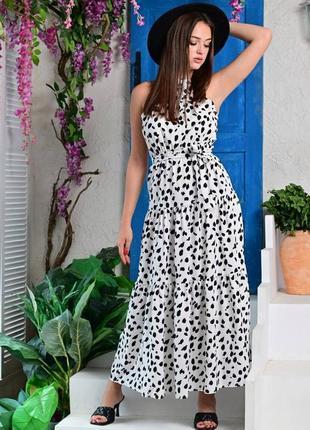 Красивое платье лето