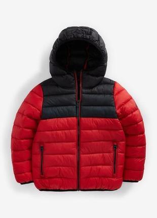 Водоотталкивающая дутая куртка next(3-16 лет)