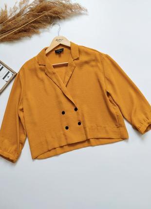 Укороченная блуза topshop