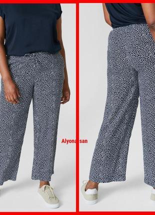 Легкие брюки палаццо jessica (c&a) в нескольких размерах батал 💣