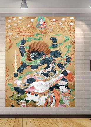 Картина-гобелен текстильный ямантака