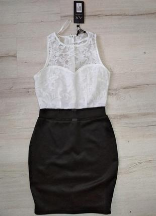 Нарядное платье black/ white от  ax , uk8, наш 42/44