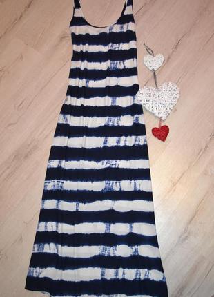 Сарафан платье макси  вискоза