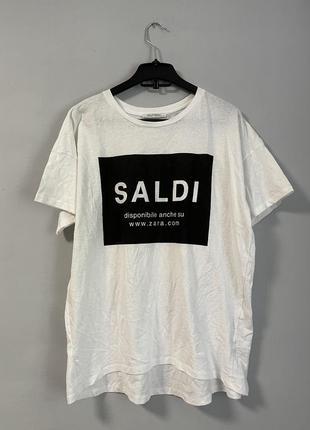 Новая футболка zara