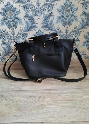 Стильная кожаная сумочка2 фото