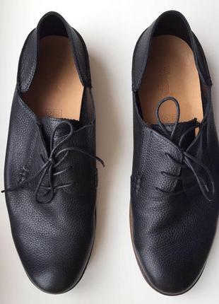 Повседневные мужские туфли от prego, кожаные туфли, шкіряні туфлі.