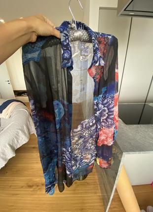 Рубашка летняя блуза desigual s