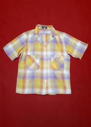Рубашка с большими карманами  р s швейцария