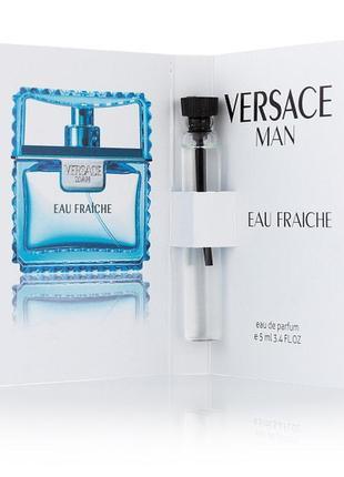 ✅ духи масляный мини-парфюм с феромонами versace man eau fraiche 5 мл