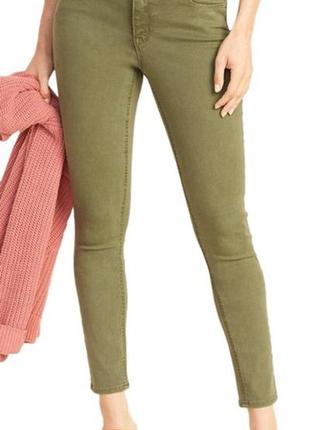 Стильные стрейтчевые джинсы скинни dorothy perkins