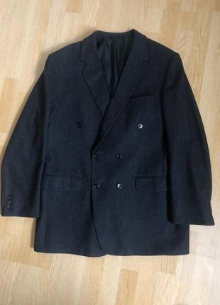 Burberrys пиджак шерсть,  размер 50