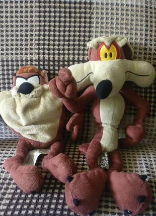 Мягкая игрушка тасманский дьявол таз looney tunes warner bros