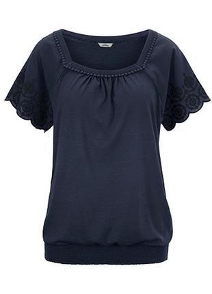 Футболка блуза размер 44-58 наш tchibo тсм