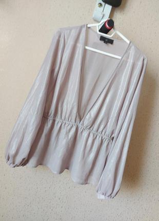 Кофточка блузка блестящая