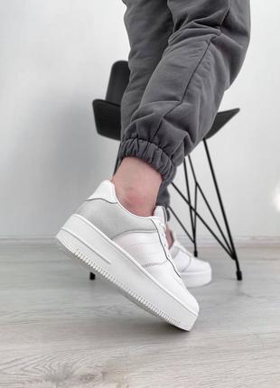 Белые форс кроссовки форс кеды форс