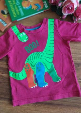 Модная летняя футболка mothercare на 9-12 месяцев.