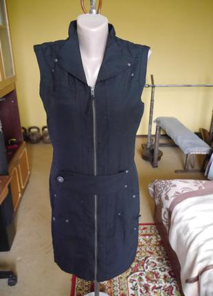 Плаття-сарафан на підкладі коротке  на розмір м only