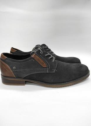 Туфли мужские замшевые tom tailor оригинал новые