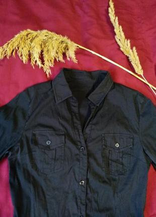 Классическая базовая рубашка