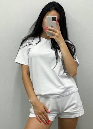 Комплект шорты+футболка хлопок