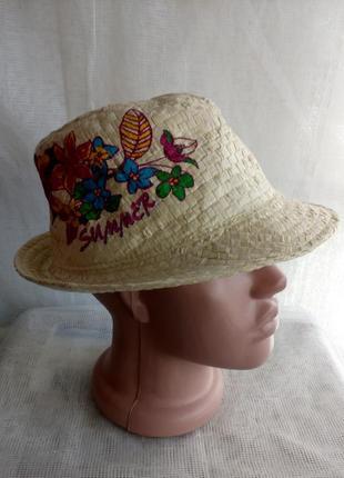 Шляпки женские летние солнцезащитные