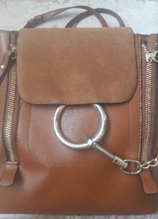 Рюкзак сумка торба chloe