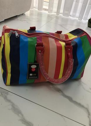 Женская дорожная сумка/ сумка для спортзала