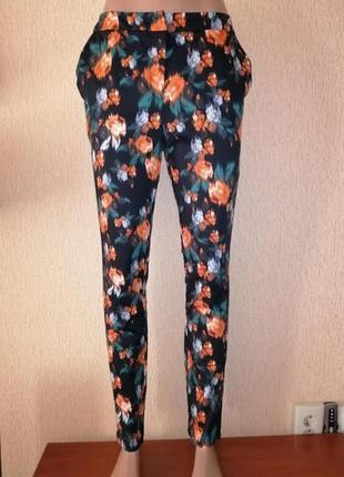Стильные зауженные женские брюки, штаны george