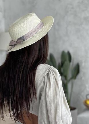 Канотье /шляпа 🤩