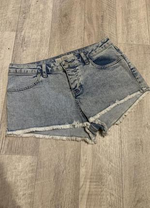 Шорты джинсовые шортики женские м 44-46р