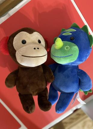 Skip hop динозавр обезьянка игрушки