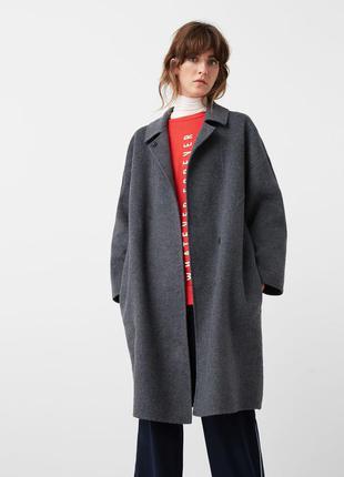 Пальто от mango испания шикарная вещь! шерсть! есть размеры