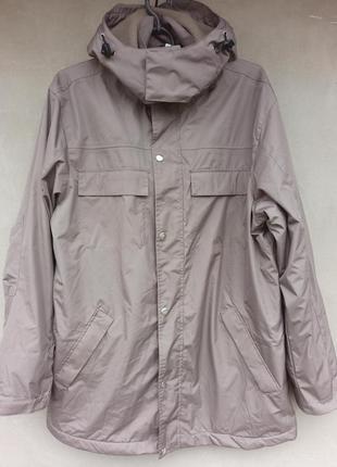 Демисезонная удлиненная мужская куртка