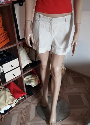 Versace! оригинал! льняные шорты!