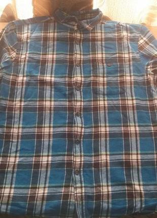 Чоловіча байкова сорочка