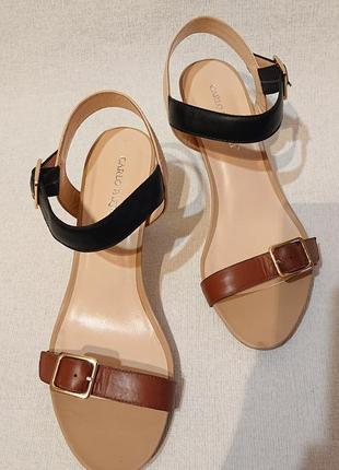 Женские кожаные босоножки сандалии carlo pazolini, 40р кожа