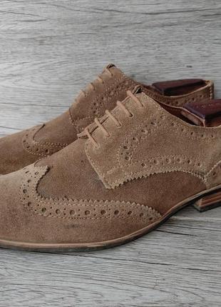 Top man 41p туфли мужские замша индия