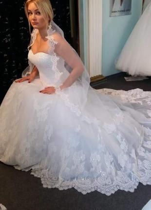 """Свадебное платье """"богиня"""""""