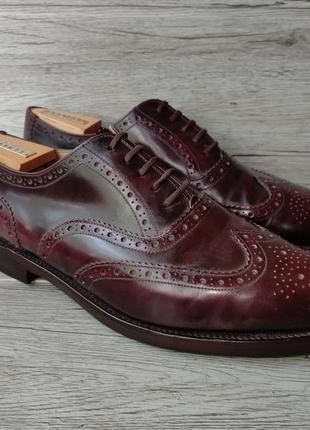 Loake 44p туфли мужские кожаные англия