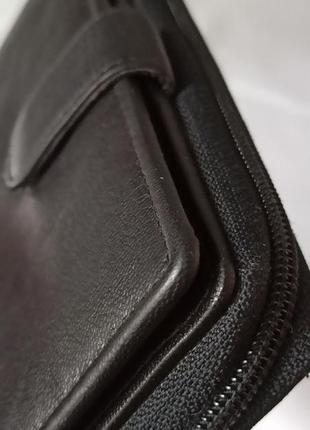 Кожаный кошелек golunski