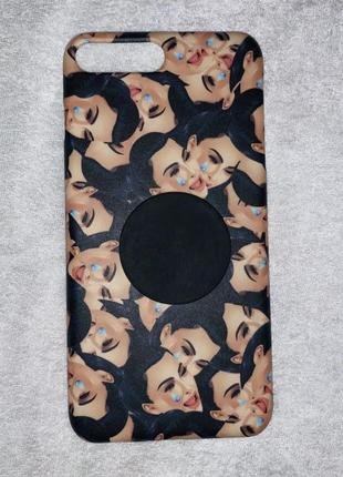 Пластиковый чехол kylie jenner cosmetics для iphone 7+ 8+ plus