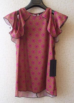 Блуза от итальянского бренда премиум класса frankie morello.