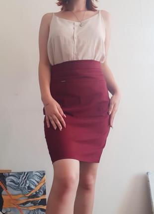Стильная юбка карандаш.