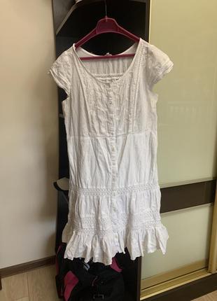Платье-халат летнее