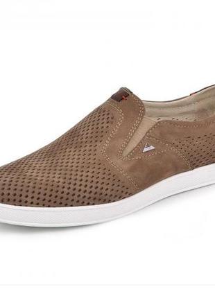 Мокасины, туфли мужские, коричневые2 фото